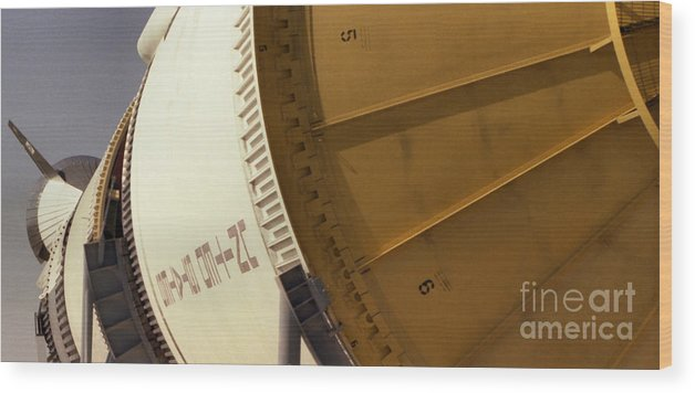 Technology Wood Print featuring the photograph Apollo Rocket by Richard Rizzo
