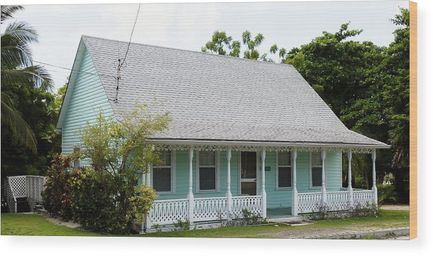 Color Wood Print featuring the photograph Webster Cottage by Amar Sheow