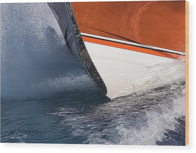 Riva Wood Print featuring the photograph Classic Riva by Steven Lapkin