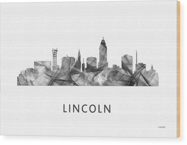 Lincoln Nebraska Skyline by Marlene Watson