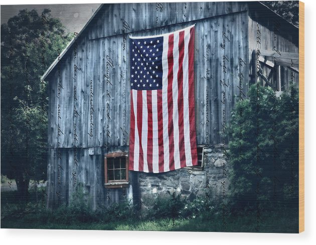 Old Wood Print featuring the photograph Pride by T-S Photo Art
