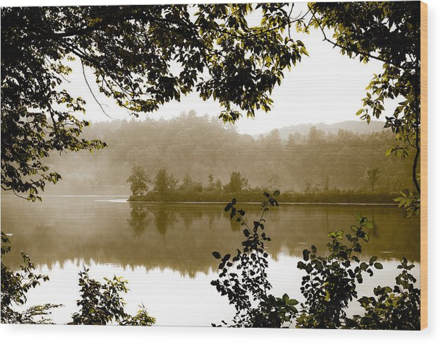 Lake Wood Print featuring the photograph The Peace Of Wild Things by Nathan Larson