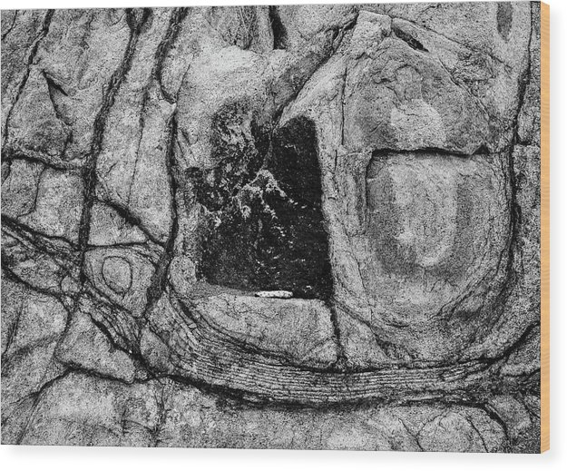 Grapevine Wood Print featuring the photograph Grapevine Hills No. 8 by Al White