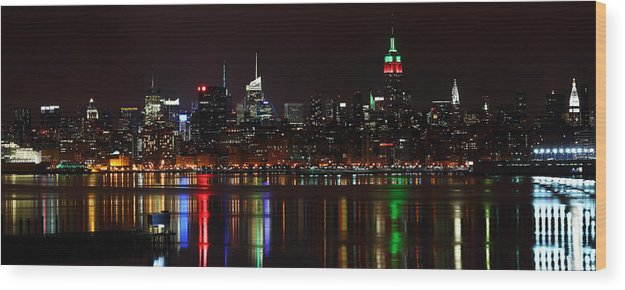 Ny Wood Print featuring the photograph Very Rich Neighbors by Mihai Andritoiu