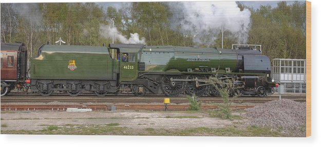 Steam Wood Print featuring the photograph Portrait Of A Duchess by David Birchall