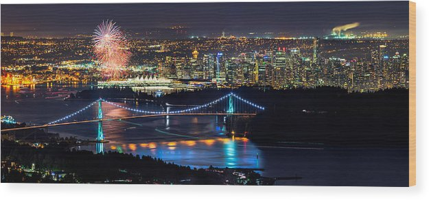 Canada Day Wood Print featuring the photograph Canada Day 2013 by Alexis Birkill
