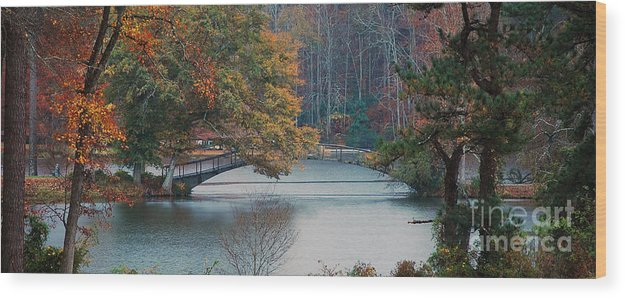 Bridge Wood Print featuring the photograph The Bridge At Callaway by Robert Meanor