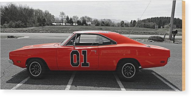 General Lee Wood Print featuring the photograph General Lee by Brenda Conrad
