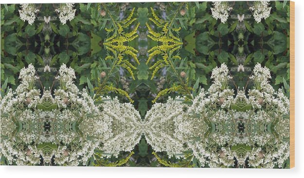 Wildflowers Wood Print featuring the photograph Wildflowers by Keri Renee