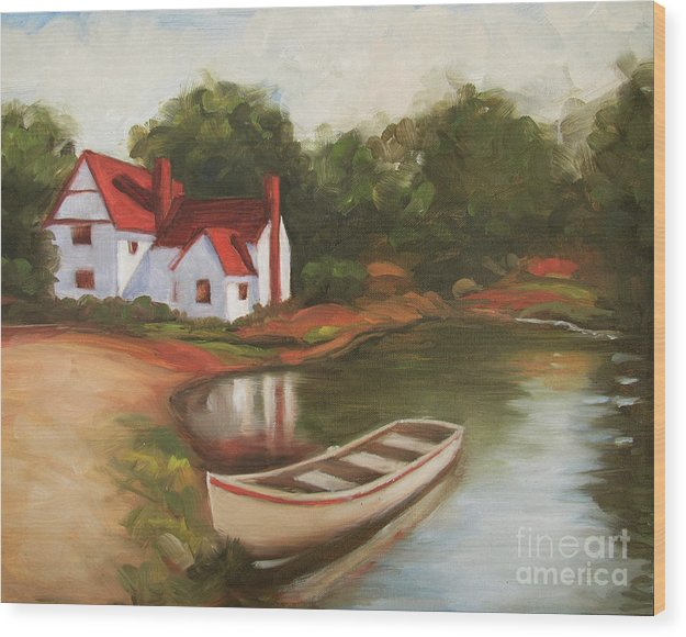 Countryside Lakehouse by Don Locke