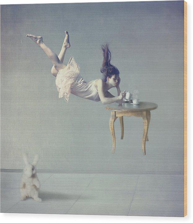 Floating Wood Print featuring the photograph Still dreaming by Anka Zhuravleva