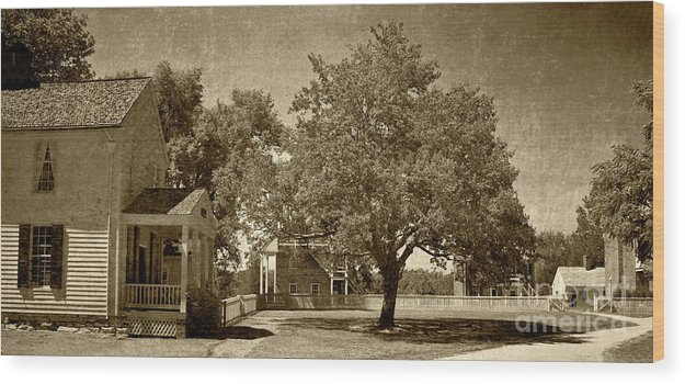 Appomattox Wood Print featuring the photograph Appomattox by Pete Hellmann