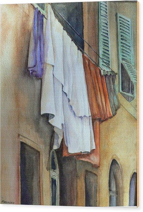 Airing Linen by Kathleen Murray