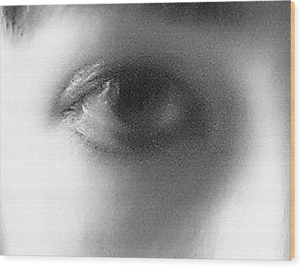 Wood Print featuring the photograph Sadness In The Eye by Miguel Davlantes