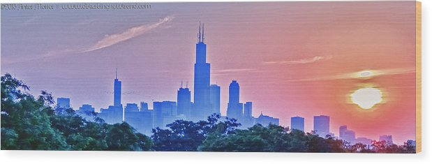 Chicago Wood Print featuring the photograph Good Morning Vietnam by Antar Morrar