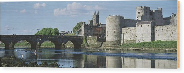 Attraction Wood Print featuring the photograph Castles, St Johns Castle, Co Limerick by The Irish Image Collection