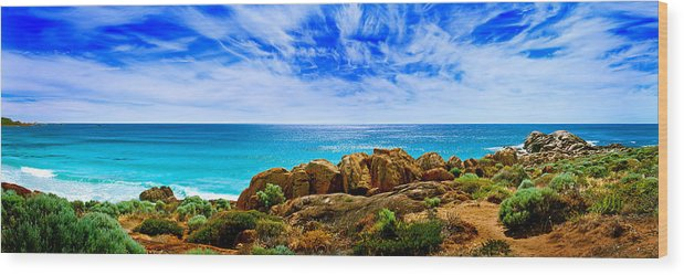 Smiths Beach Wood Print featuring the photograph Look To The Horizon by Az Jackson