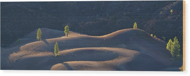 California Wood Print featuring the photograph Volcanic by Dustin LeFevre
