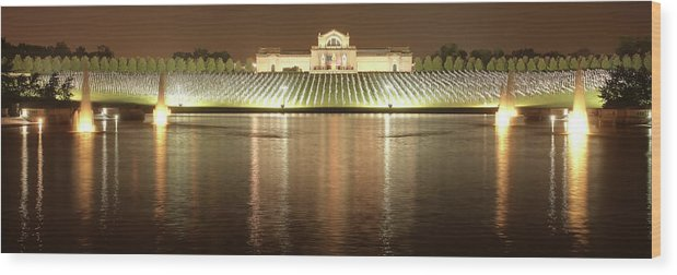 9-11 Wood Print featuring the photograph The Heartland Remembers 9-11 by Harold Rau