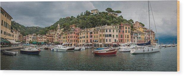 Portafino Wood Print featuring the photograph Portofino by Jeven Dovey
