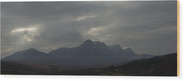 Landscape Wood Print featuring the photograph Ben Loyal by Christopher Sinclair