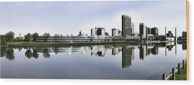Toledo Wood Print featuring the photograph Toledo Panoramic View by Thomas Staff