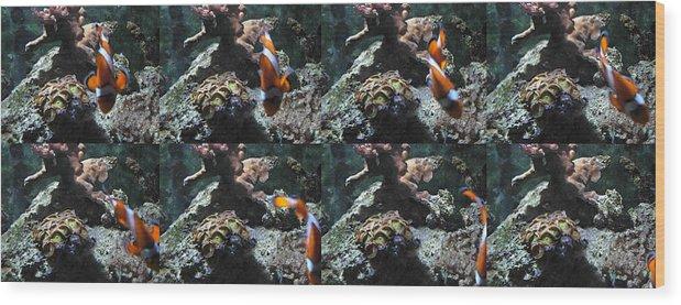 Nemo Wood Print featuring the photograph Ocean Motion by Amanda Vouglas