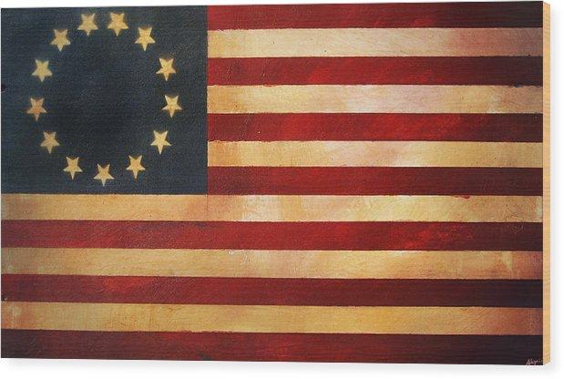 Betsy Ross Flag by Adam Varga