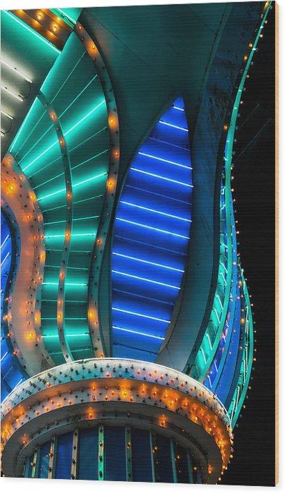 Aquarius Casino Neon Column by Glenn DiPaola