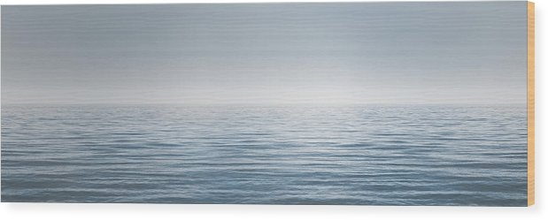 Water Wood Print featuring the photograph Limitless by Scott Norris