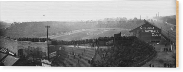 Crowd Wood Print featuring the photograph Stamford Bridge by Alfred Hind Robinson