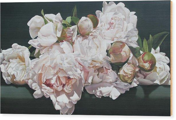Peonies 195 X 114 cm by Thomas Darnell