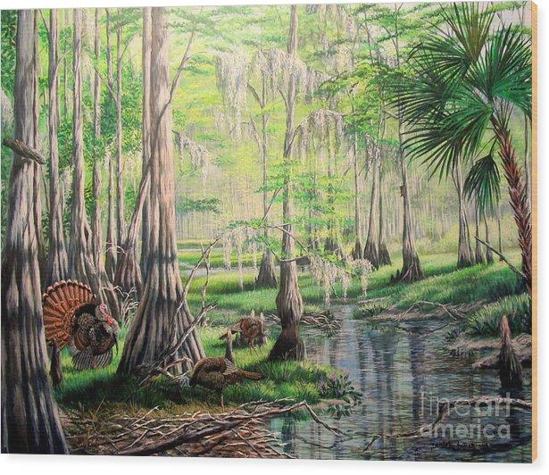 Spring Gobbler Season-Fish Eating Creek by Daniel Butler