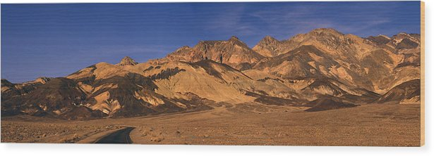 Mountains Wood Print featuring the photograph Road To Heaven by Bryan Shane
