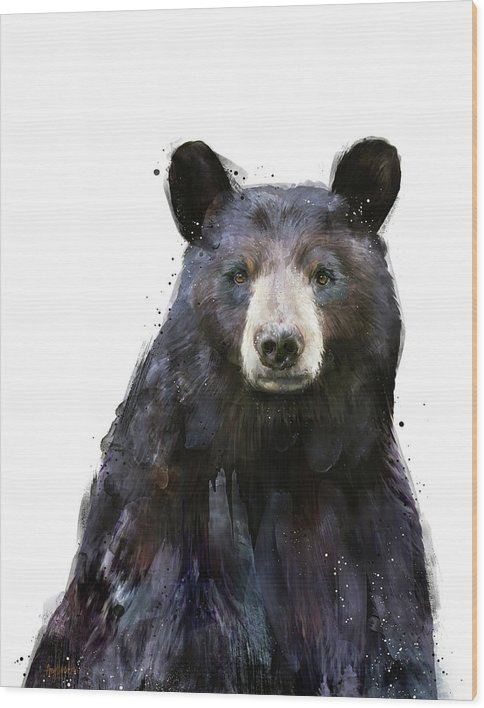 Black Bear by Amy Hamilton