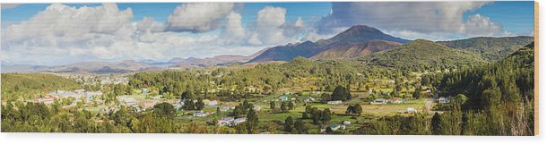 Tasmania Wood Print featuring the photograph Town Of Zeehan Australia by Jorgo Photography - Wall Art Gallery