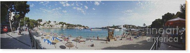 Playa Wood Print featuring the photograph Porto Cristo Beach by Agusti Pardo Rossello