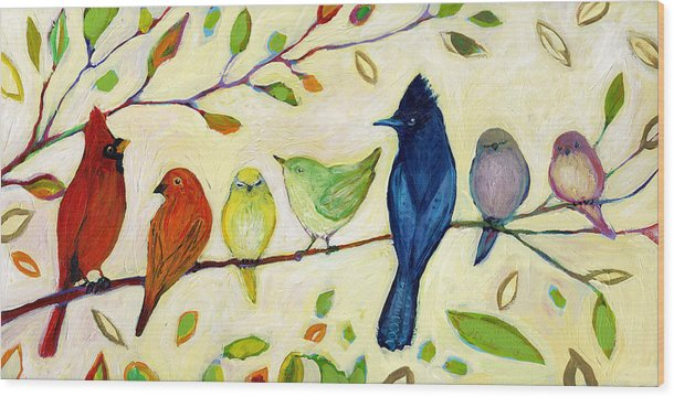 A Flock of Many Colors by Jennifer Lommers