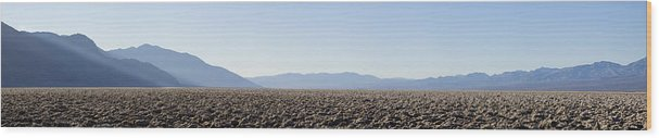Panorama Wood Print featuring the photograph Enjoy The Silence by Mike Irwin