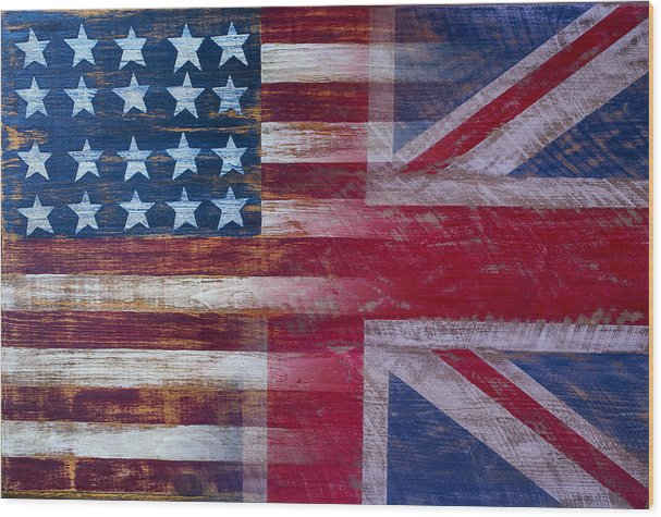 American British Flag by Garry Gay