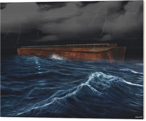 Noah Ark by Evelyn Patrick