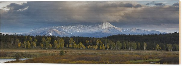 Mt. Leidy Highlands Panorama by Jennifer Grover
