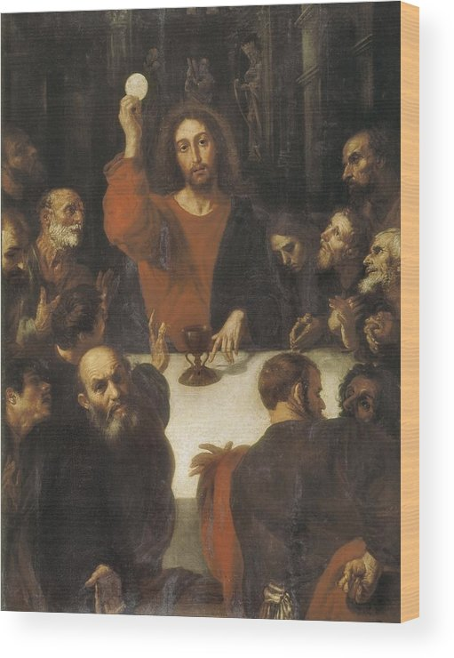 Vertical Wood Print featuring the photograph Ribalta, Juan 1596-1628. The Holy by Everett