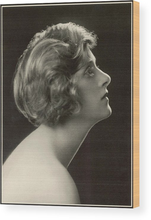 Gladys Wood Print featuring the photograph Gladys Cooper (1888 1971), English by Mary Evans Picture Library