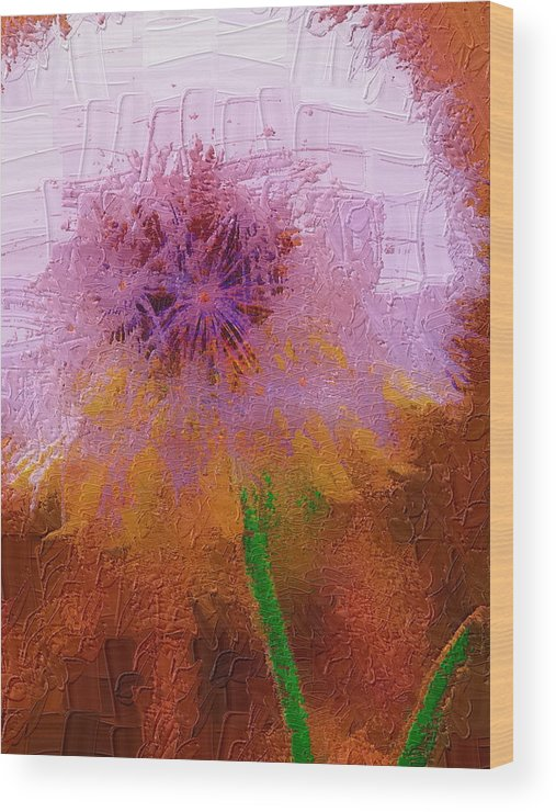 Nature Wood Print featuring the photograph Make A Wish by Diane Miller