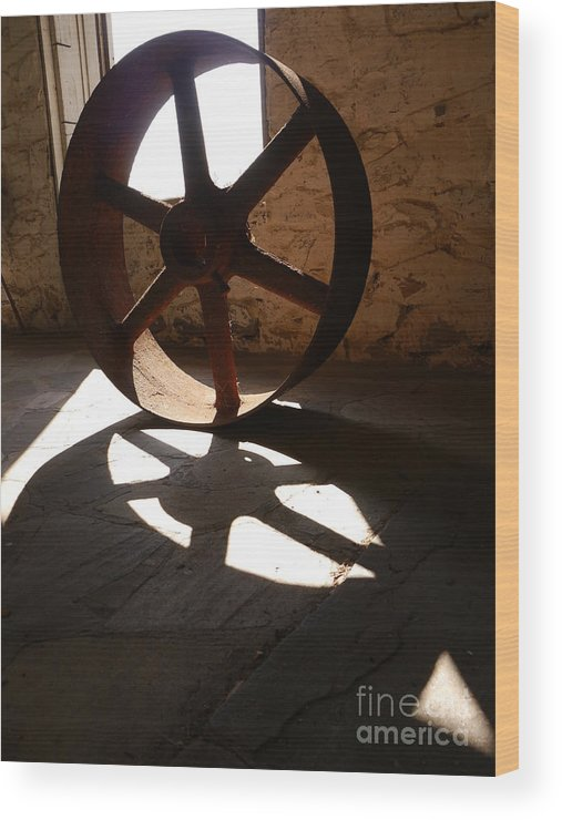 Beverly Chapman's Mill Wood Print featuring the photograph Rust In Peace by Jane Ford