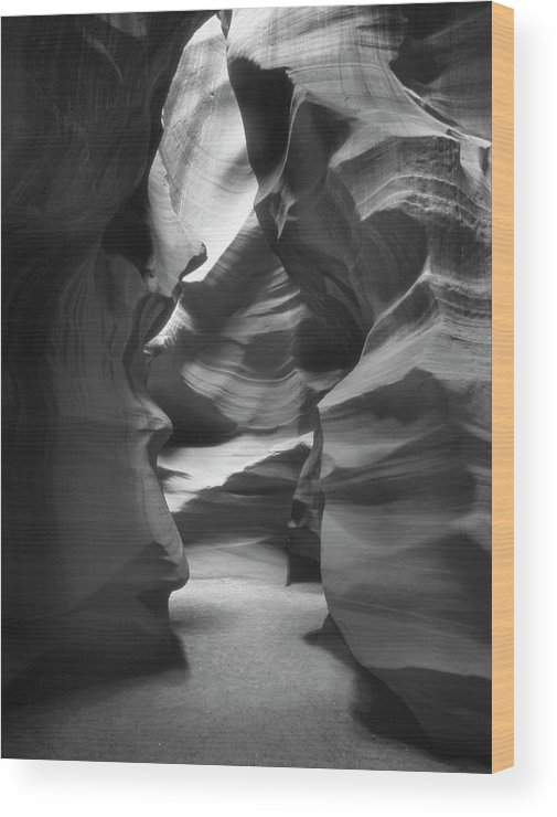Slot Canyon Wood Print featuring the photograph Slot Canyon 2 by Mike McGlothlen