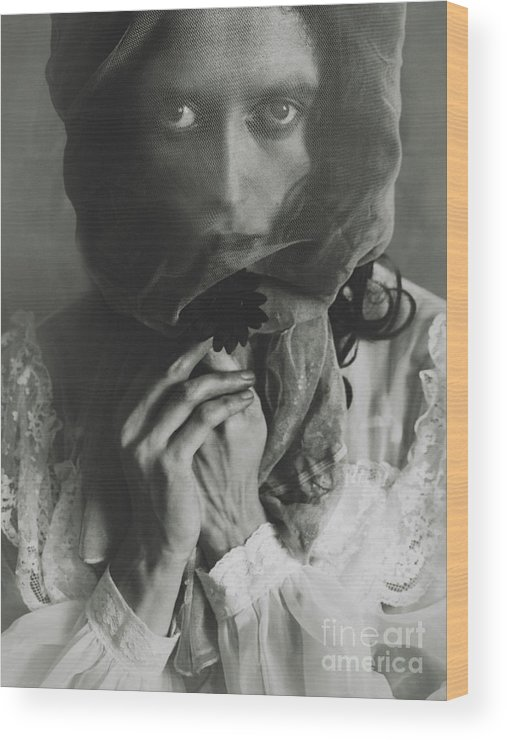 Ghost Wood Print featuring the photograph Spell II by Malgorzata Maj