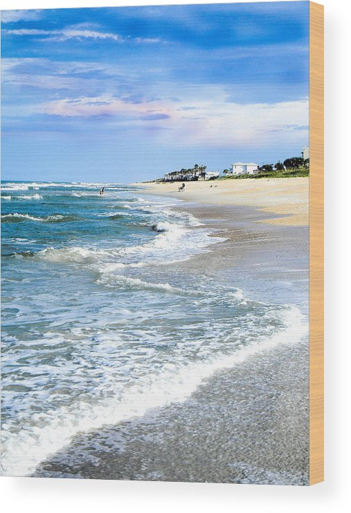 Beach Wood Print featuring the photograph Sweet Summer by Christy Usilton