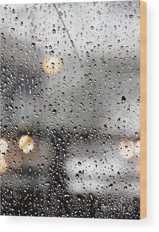 Through A Glass Darkly Wood Print featuring the photograph Through A Glass Darkly by Sarah Loft